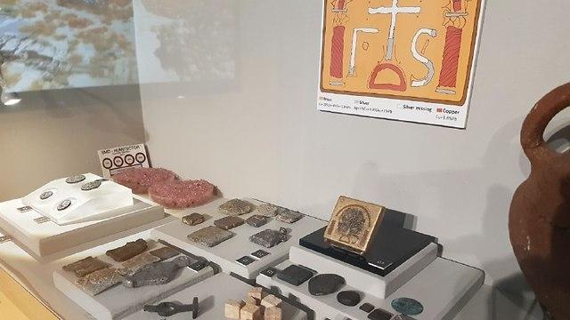 הצלב שהתגלה בחפירות בסוסיתא (צילום: באדיבות מוזיאון הכט, אוניברסיטת חיפה)