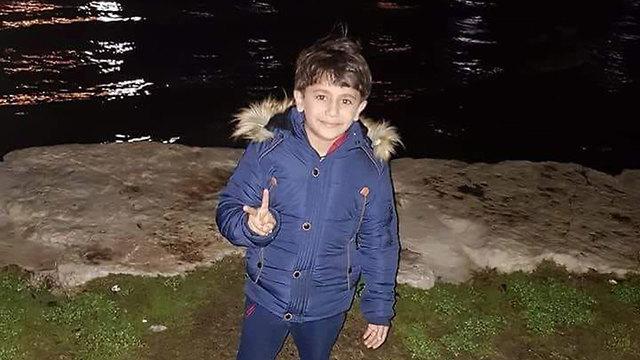 Seven-year-old Karim Jumhour