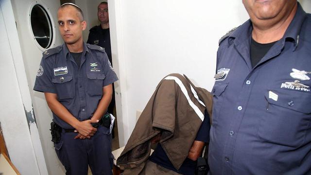 Давид Хаим в суде. Фото: Ярив Кац