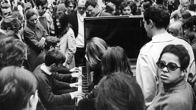 מרד הסטודנטים מאי 1968 (צילום: Keystone, Stringer, Gettyimages IL)
