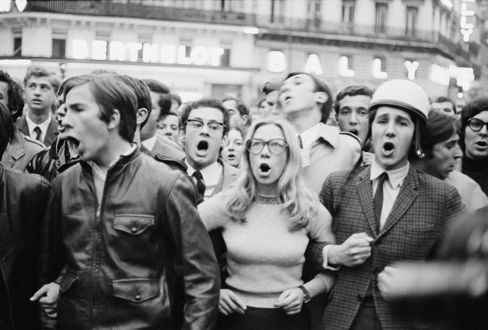 מרד הסטודנטים מאי 1968 (צילום: Reg Lancaster, Stringer, Gettyimages IL)