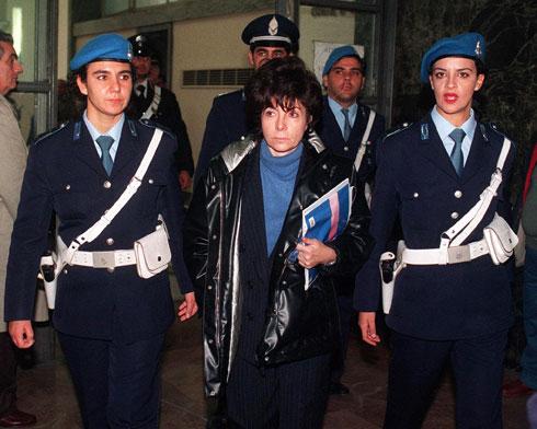 """שלחה מתנקש לבעלה מאוריציו, שהיה אז מנכ""""ל מותג האופנה ונכדו של המייסד גוצ'יו גוצ'י (צילום: AP)"""