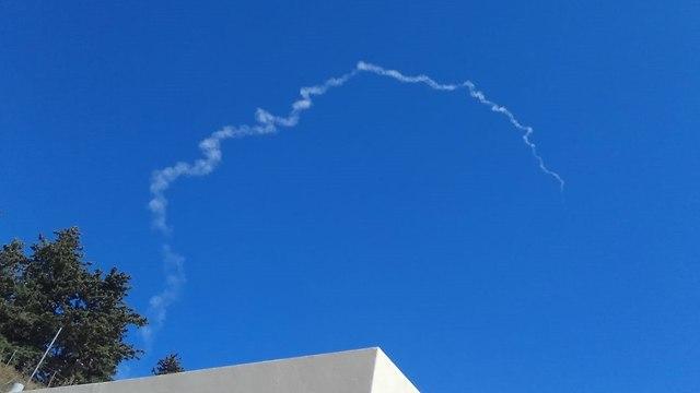 שיגור טיל פרטריוט ברמת הגולן (צילום: יונית דהן)