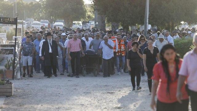 Похороны Офиры Хаим. Фото: Шауль Голан