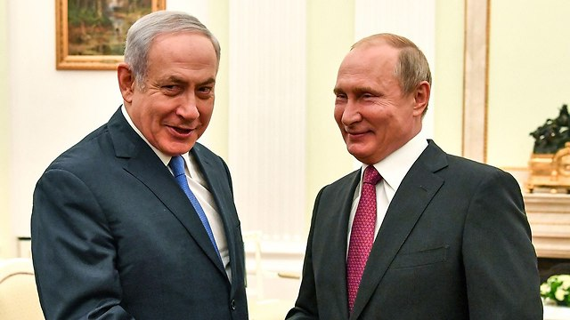 Prime Minister Netanyahu and Russian President Putin meet in Moscow in July 2018. (Photo: AFP)