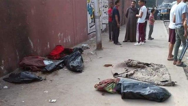 גופות מבותרות של ילדים איברים נמכרו בשוק השחור גיזה מצרים ()