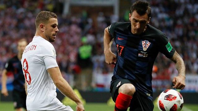 Хорватия - Англия. Фото:  AP