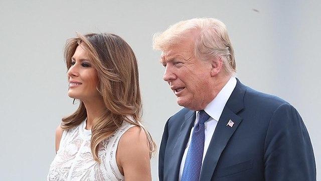 Donald and Melania Trump (Photo: EPA)
