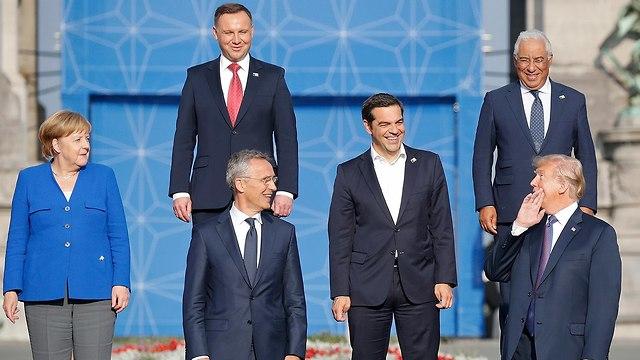 מנהיגים בפסגת נאט