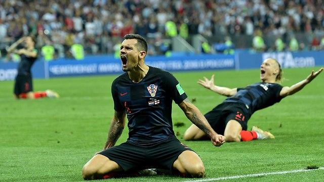 Эмоции победы. Фото: AFP