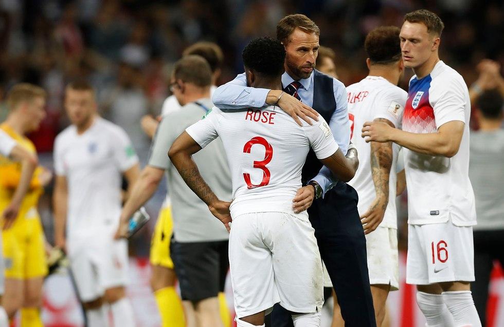 קרואטיה נגד אנגליה (צילום: AFP)
