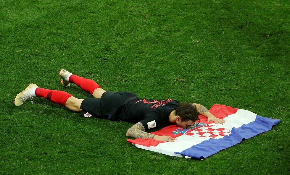 מריו מנדז'וקיץ' נבחרת קרואטיה (צילום: gettyimages)