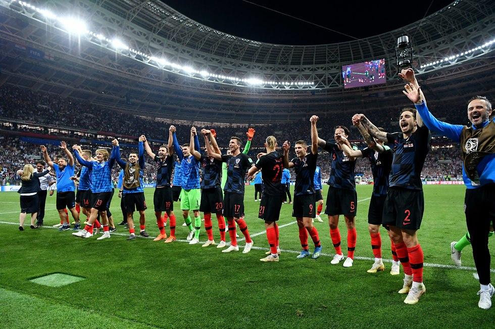 נבחרת קרואטיה (צילום: gettyimages)