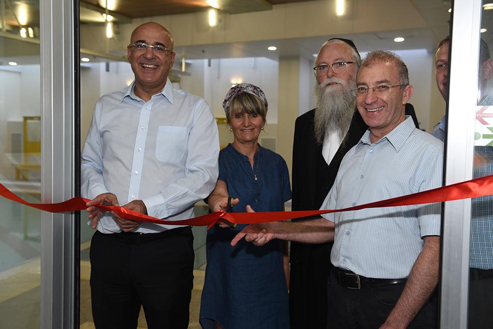 רכילות עסקית מאיר שפיגלר, הרב יהודה מרמורשטיין, שלומית גרייבסקי, איציק לארי (צילום: עמוס בוכניק)