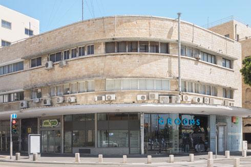הבניין המקורי נבנה ב-1937. במקור תוכננו בו שש קומות, אך נבנו שלוש (צילום: עמרי טלמור)