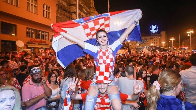 אוהדים קרואטיה (צילום: shutterstock)
