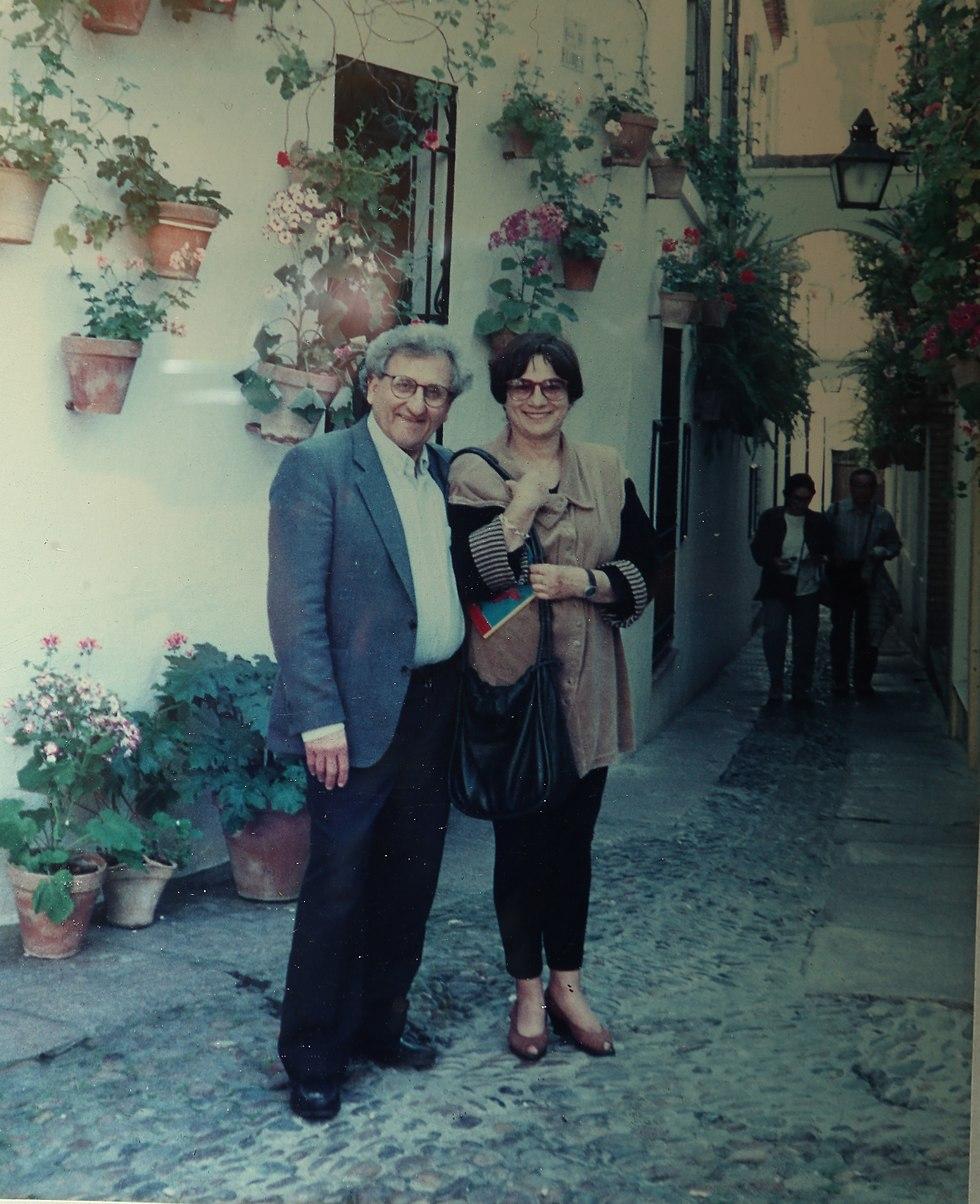 יהושע עם איקה אשתו (צילום: צביקה טישלר)