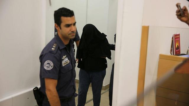 הארכת מעצר לחשודה ברצח אופירה חיים (צילום: מוטי קמחי )