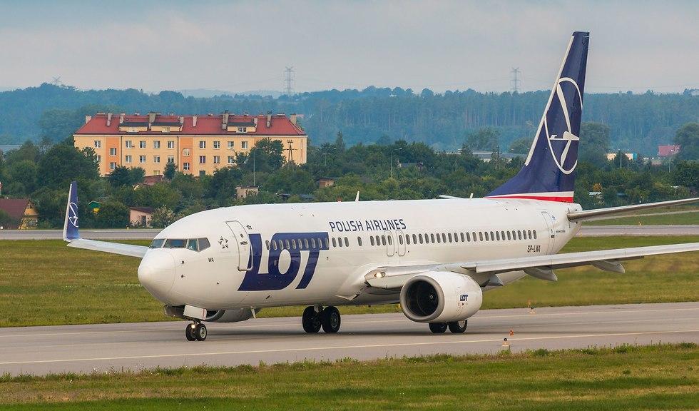 מטוס לוט (צילום: חברת לוט)