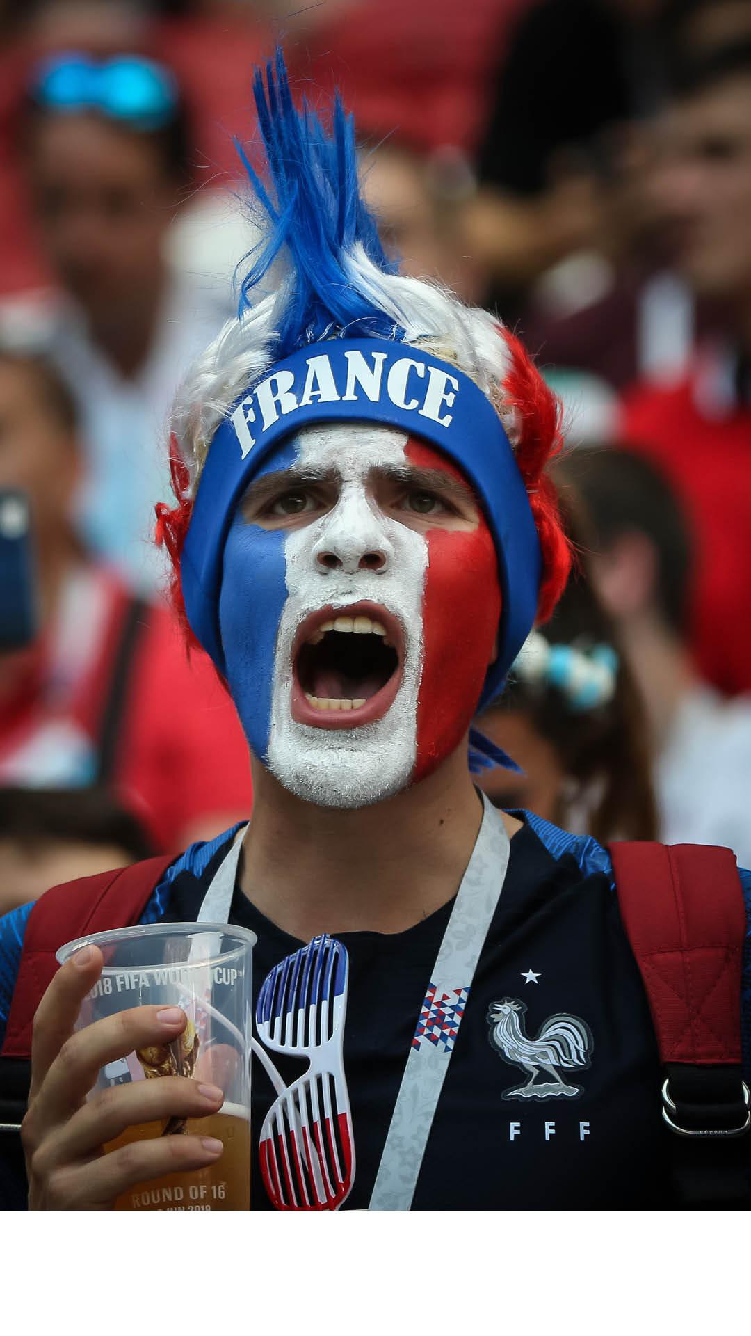 Болельщик Франции
