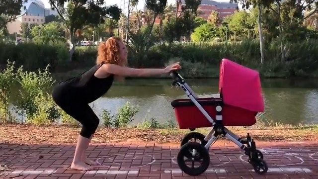 אימון לאחר לידה עם עגלה ()