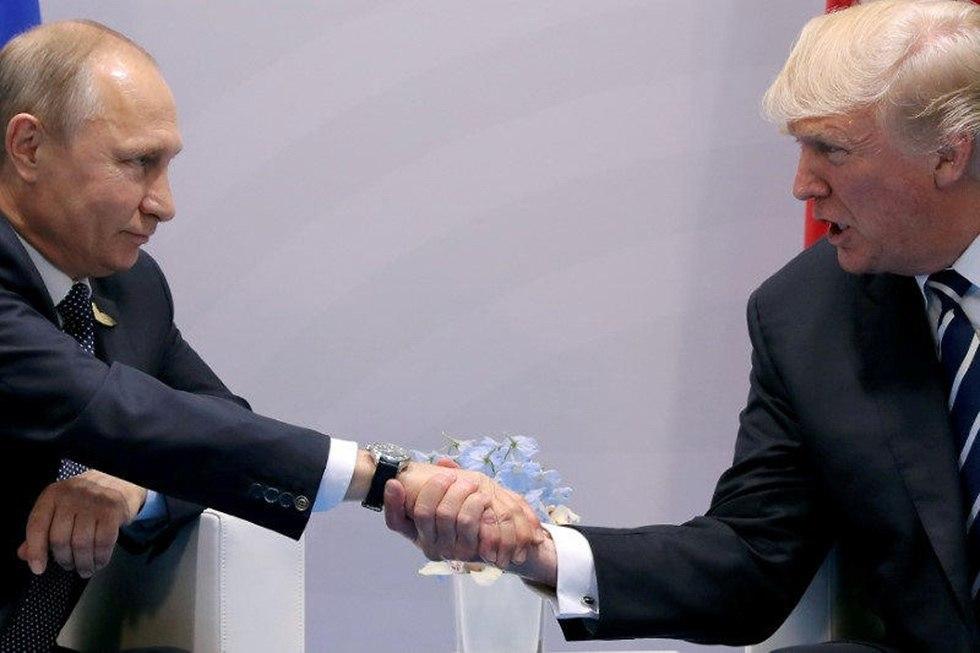 ולדימיר פוטין דונלד טראמפ (צילום: רויטרס)