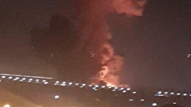 פיצוץ שדה תעופה ב קהיר מצרים ()