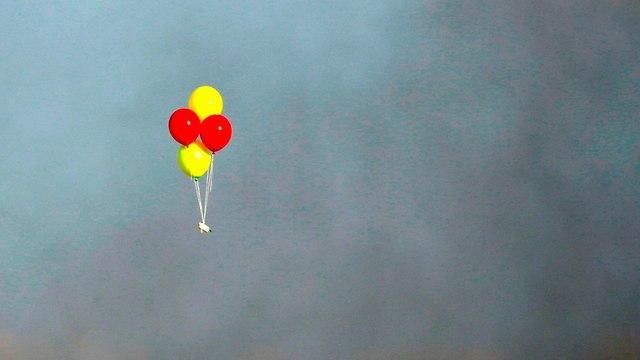 Incendiary balloon (Photo: AFP)