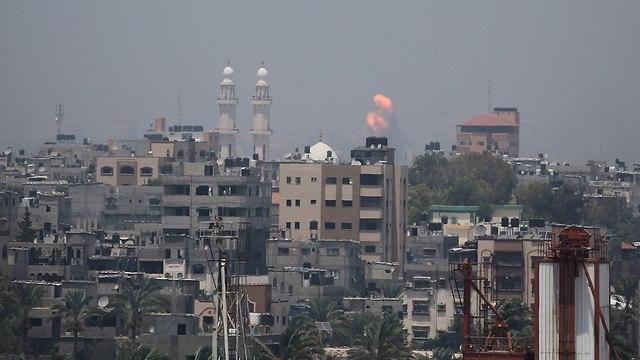 IDF strikes in Gaza (Photo: Reuters)