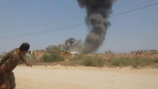 IAF bombardment in Rafah