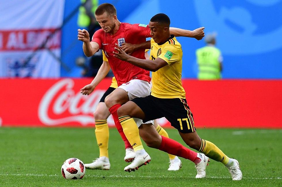 Бельгия - Англия. Фото: AFP