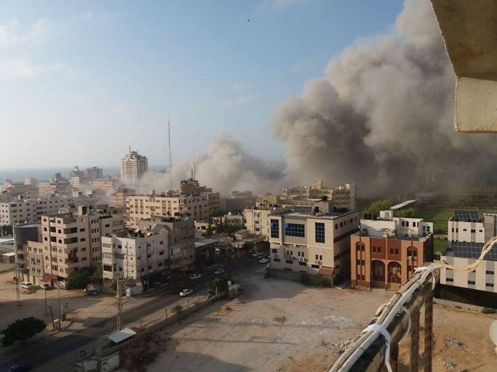 Image result for израиль разрушил объекты в газе