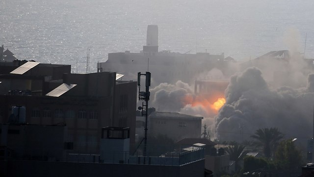 IAF strikes in Gaza (Photo: Reuters)