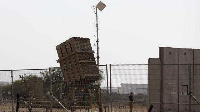 Iron Dome near Gaza (Photo: AFP)