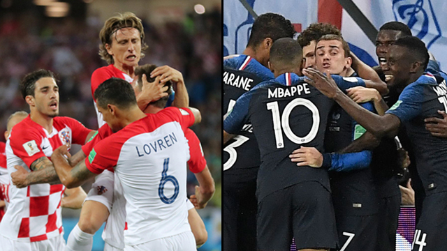 Хорватия против Франции