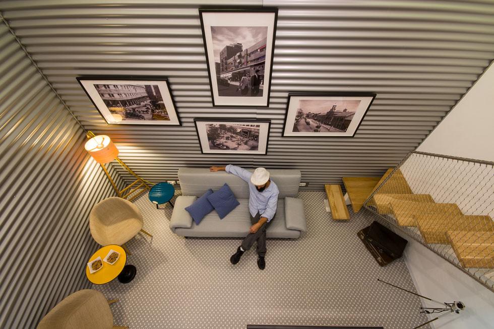 לחצו לעוד דירות קטנות ומעניינות (צילום: יוסי סטייבל)