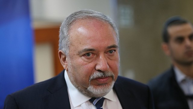 Defense Minister Avigdor Lieberman (Photo: Alex Kolomoisky)