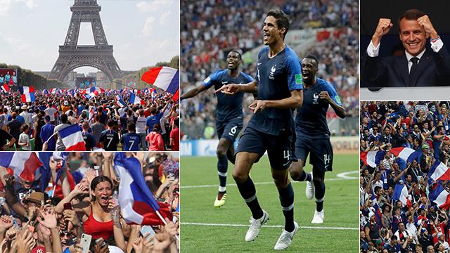Французы ликуют