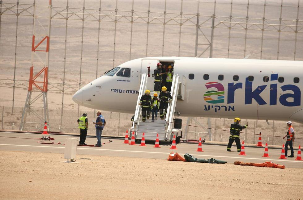 נמל התעופה רמון (צילום: מוטי קמחי)