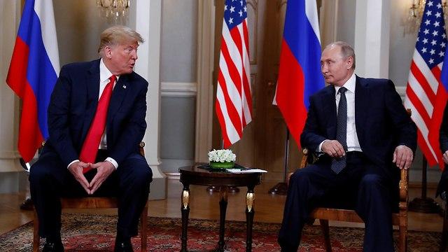 President Trump and President Putin in Helsinki (Photo: Reuters)