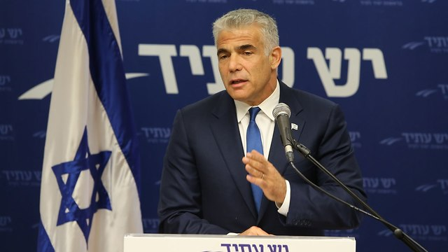 MK Yair Lapid (Photo: Amit Shabi)