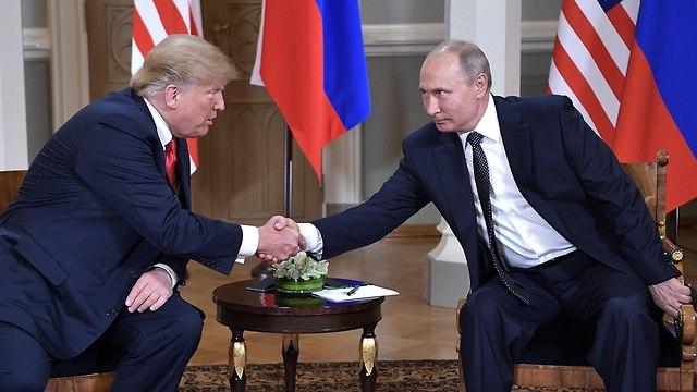 Donald Trump and Vladimir Putin meeting in Helsinki, July 2018 (Photo: MCT)