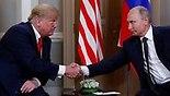 דונלד טראמפ ולדימיר פוטין ארה