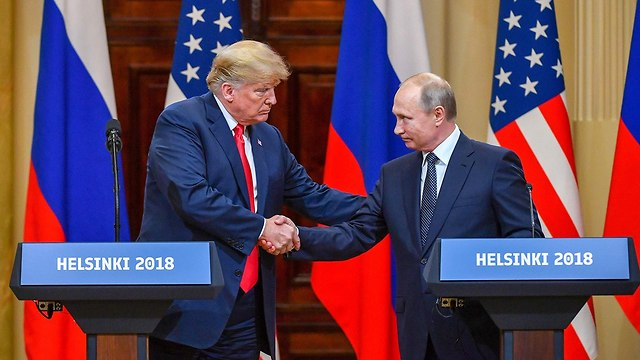 US President Trump and his Russian counterpart at the Helsinki summit (Photo: AFP)
