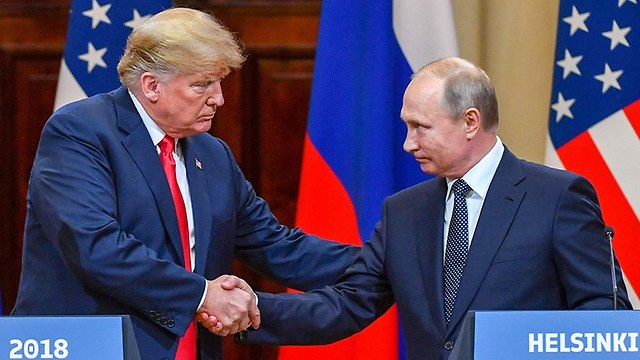 Putin and Trump in Helsinki in July 2018 (Photo: AFP)