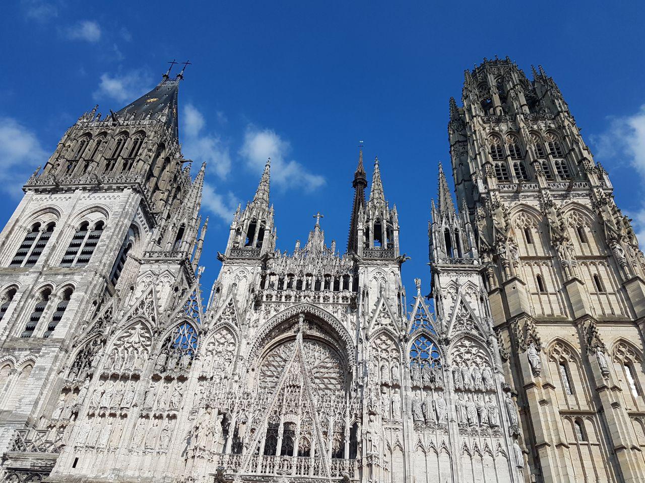 הקתדרלה של רואן (צילום: אחיה ראב