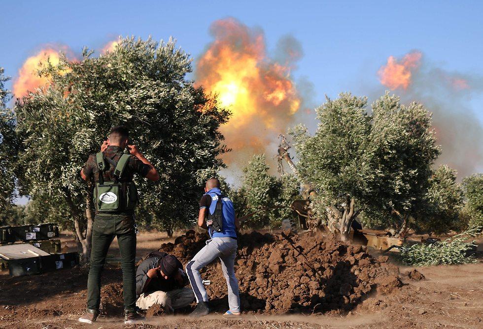 Fighting in Daraa (Photo: AFP)