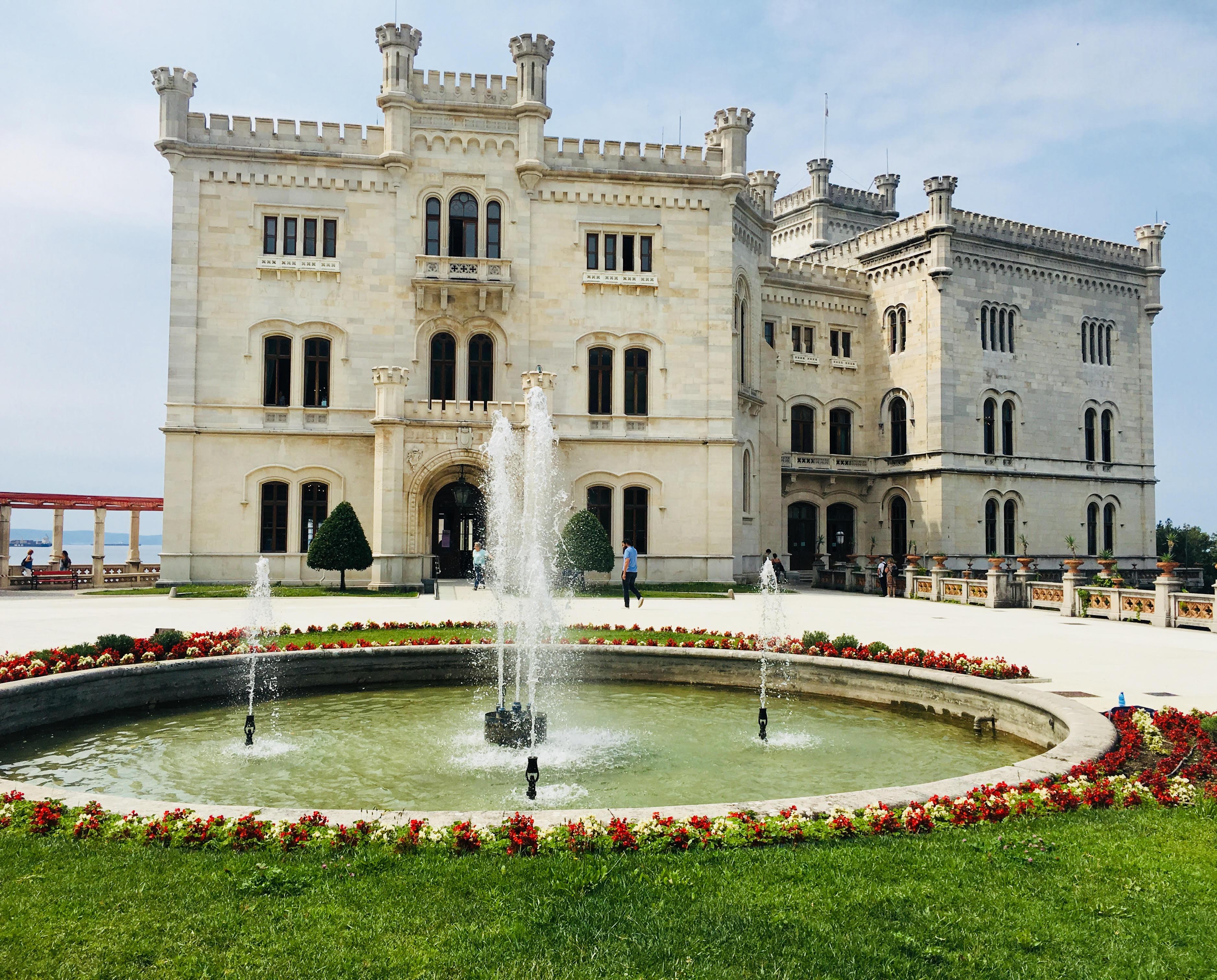 טירת Castello di Miramare (צילום: הילי ברוק בלום)