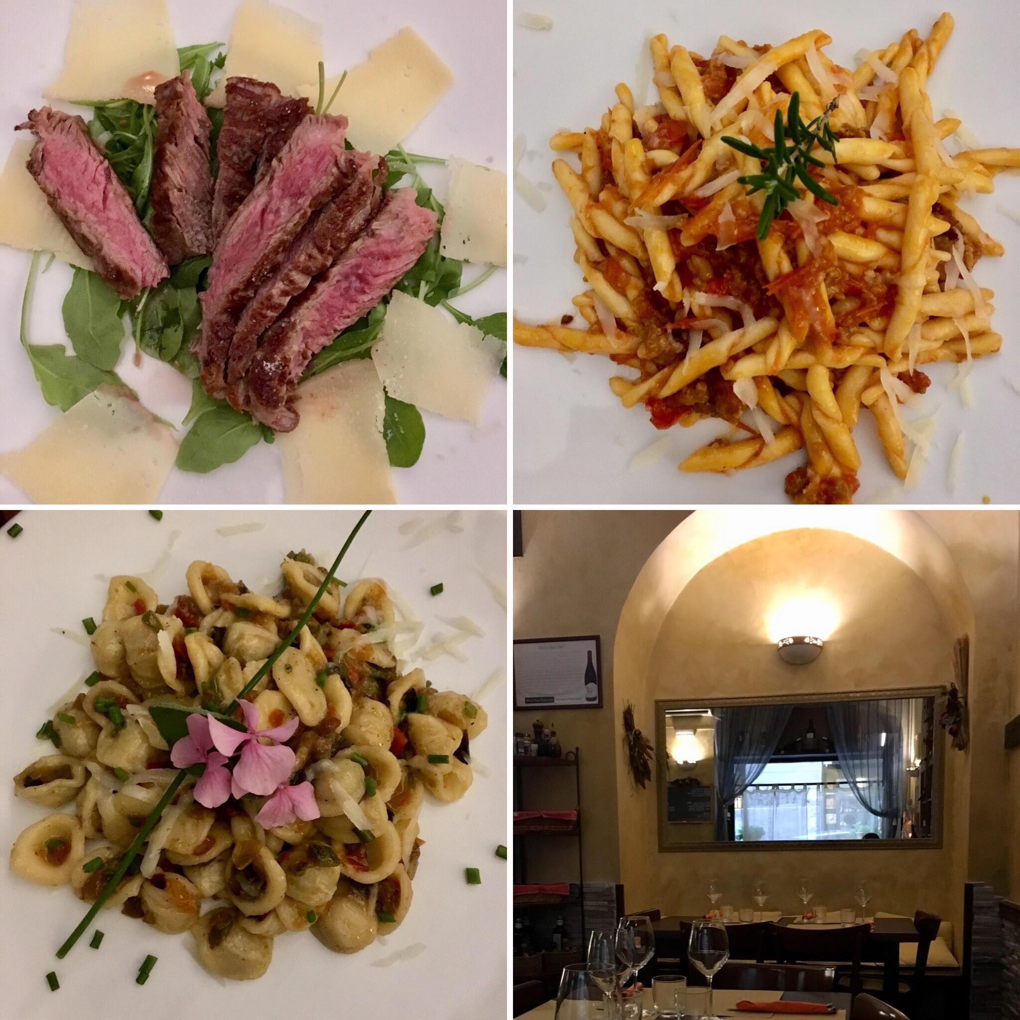 פסטה ובשרים במסעדת Tavernetta (צילום: הילי ברוק בלום)