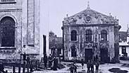 אוקראינה: שוחזר בית הכנסת מהציור המפורסם